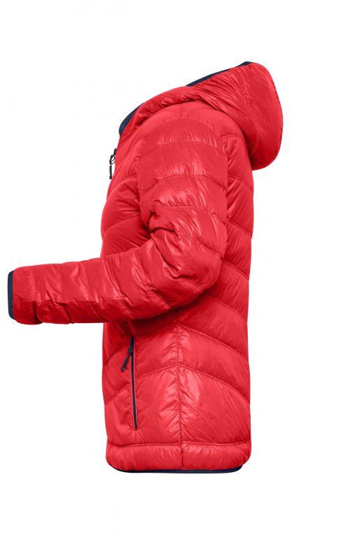 Дамско шушляково яке - цвят Червено/Флота