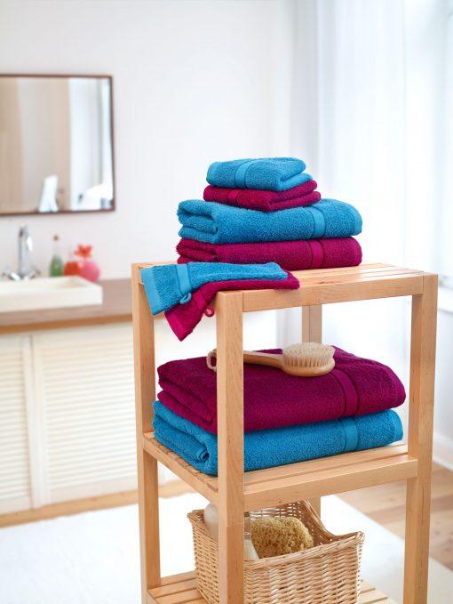 Кърпа за баня 70 x 140 cm - цвят Морскосиньо