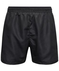 Мъжки спортни шорти - цвят Черно/Черно-Отпечатано