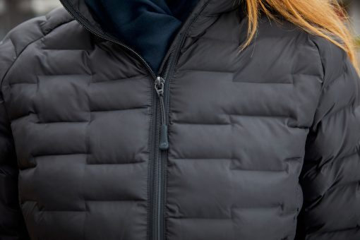 Дамско ватирано яке Sorona® - цвят Черно-Матов