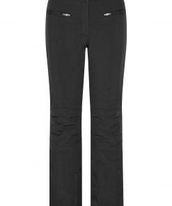 Дамски софтшел панталон - цвят Черен