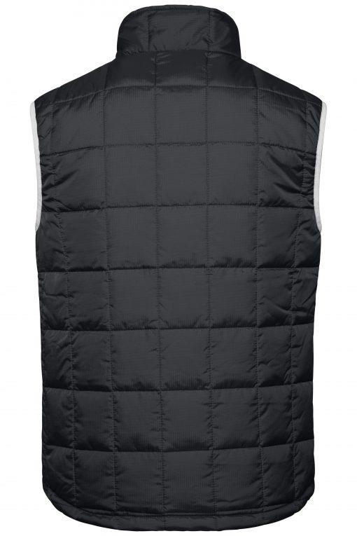 Мъжки шушляков елек Thinsulate - цвят Черно/Сребро