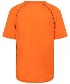 Мъжка отборна тениска - цвят Оранжево/Черно