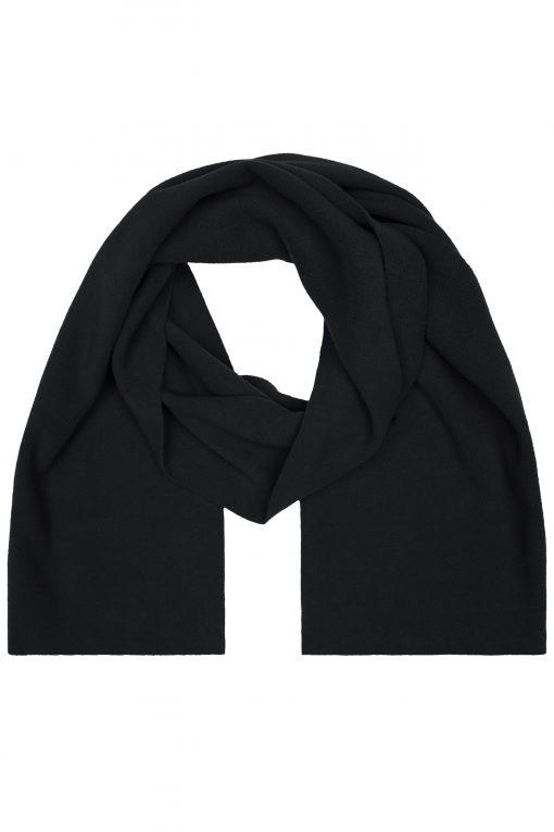 Поларен шал XL - цвят Черен