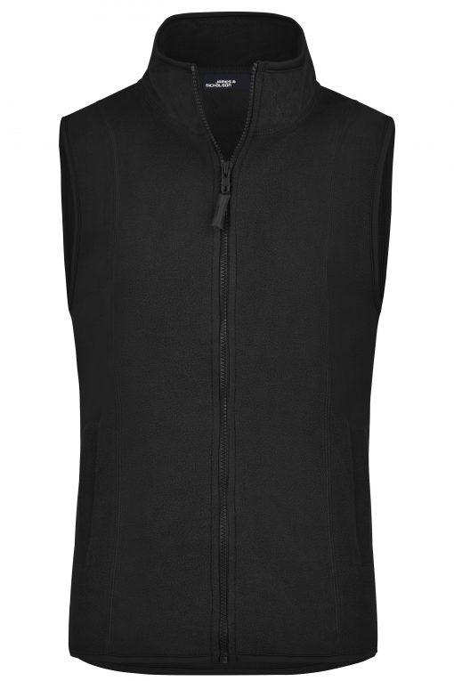 Женски поларен елек - цвят Черен