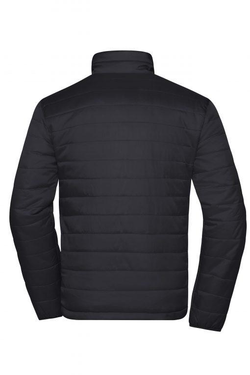 Мъжко шушляково яке - цвят Черен