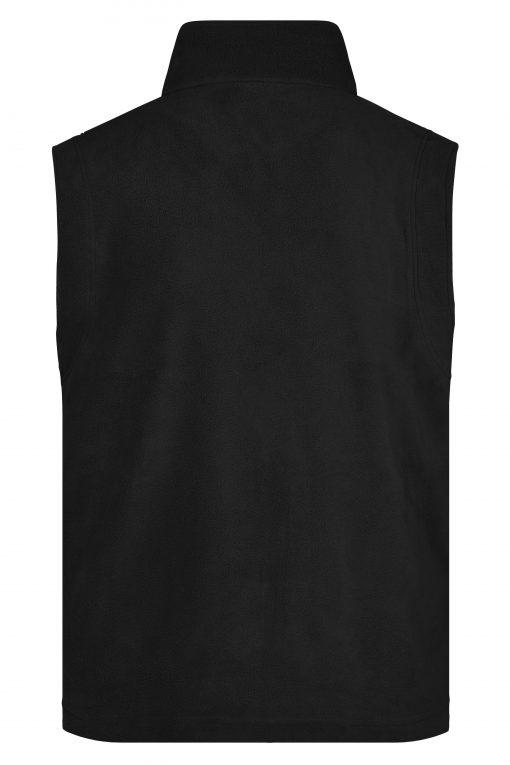 Мъжки поларен елек - цвят Черен