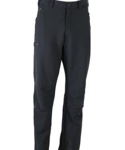 Мъжки туристически панталон - цвят Черен