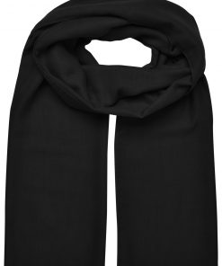 Летен шал Supersize - цвят Черен