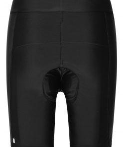 Дамски къси панталони за колоездене - цвят Черен