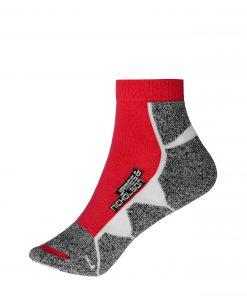 Спортни чорапи - цвят Червено/Бяло