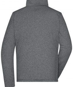 Дамско софтшел яке - цвят Тъмно-Меланж/Черен