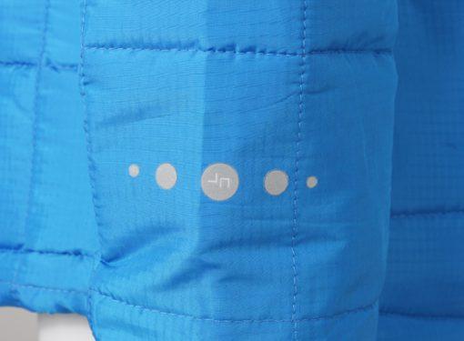 Дамско шушляково яке Thinsulate - цвят Морско Син/Червен