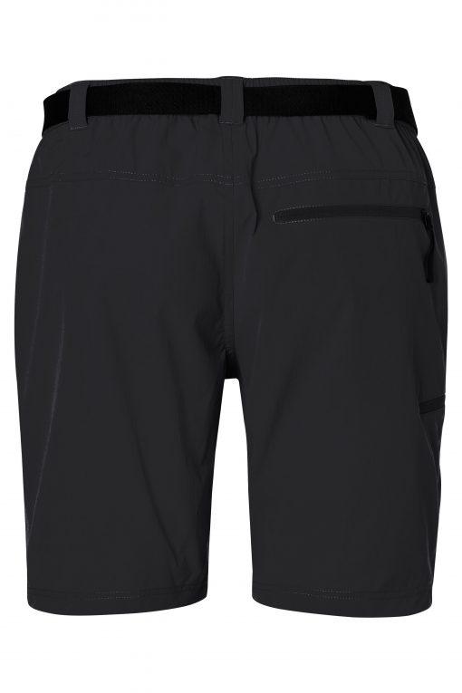 Мъжки трекинг шорти - цвят Черен