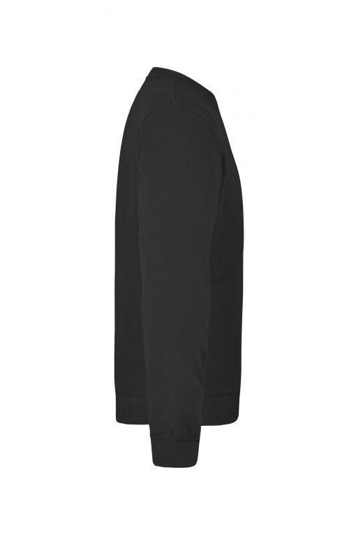 Мъжка блуза с дълъг ръкав - цвят Черен