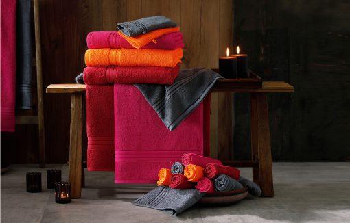 Хавлиена кърпа 30 x 50 cm - цвят Черен