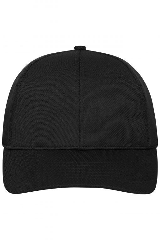 Спортна шапка с козирка - цвят Черен
