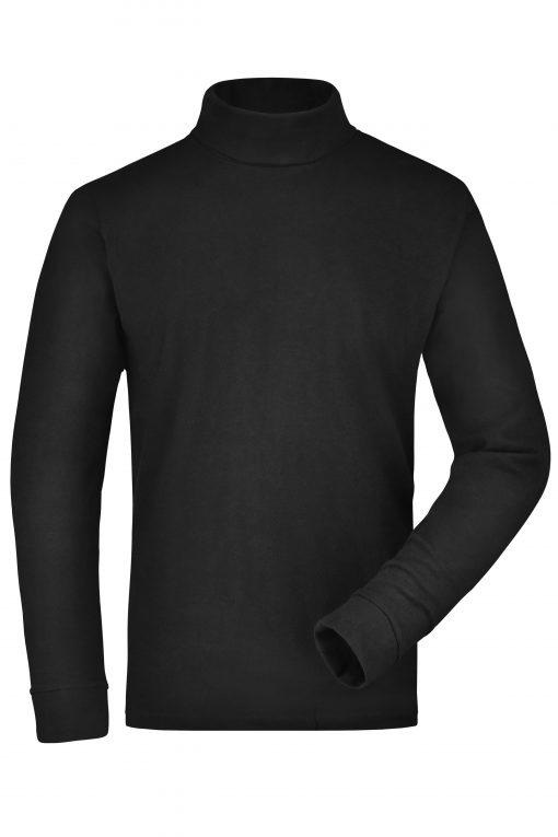 Мъжко поло - цвят Черен