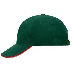 Tymno-zeleno / cherveno / tymno-kaki