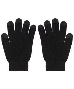 TouchScreen зимни ръкавици - цвят Черен