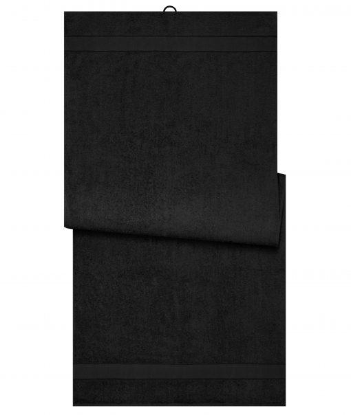 Био кърпа за сауна 70 x 180 cm - цвят Черен