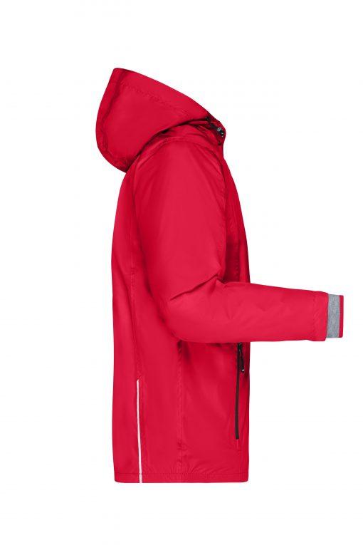Мъжко яке 3 в 1 - цвят Червено/Черно